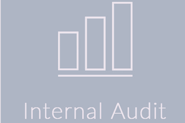 Image with text as internal audit and graph of efficiency by implementing Internal audit services of Gupta Accountants an accounting and auditing firm in Dubai